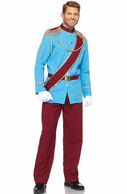 Prince Charming Disney Costume for Men Size Medium New by Leg Avenue DP85147 - Prince Charming Disney Costume