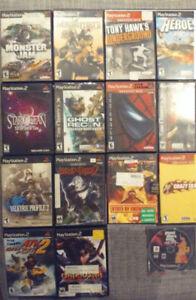 Jeux Playstation 2 PS2 à vendre ou échanger