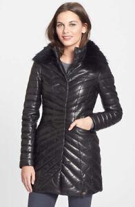 Manteau de cuir RUDSAK impeccable - Medium