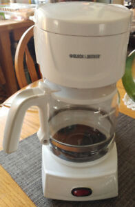 Coffee maker, 12 cup Black & Decker only  $15