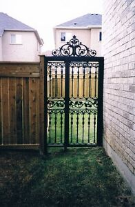 Custom Iron Gates and Railings