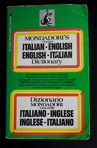 Italian-English Dictionary West Island Greater Montréal image 1
