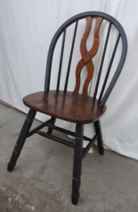 A vintage chair, solid wood, restored/refinished