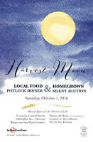 Harvest Moon Potluck and Homegrown Silent Auction