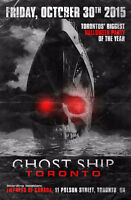 Belleville this is your invite to Ghostship Toronto