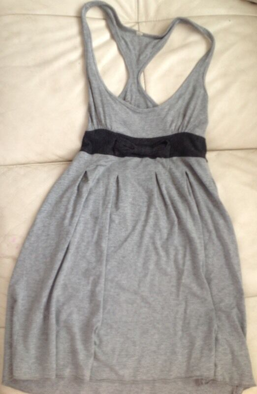 I lovely little grey mini dress with that though in the middle size 6 to 8