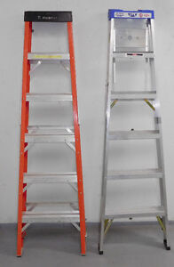 Fiberglass and Aluminum Ladders For Sale