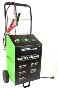 Forney 52726 Wheeled Battery Charger, 2/30/60/300-Amp, 6/12-volt