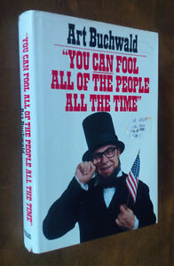 Book Art Buchwald You Can Fool All of the People All of the Time