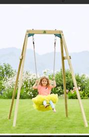 Wooden garden swing (brand new)