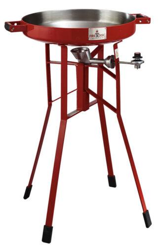 "NEW FireDisc TCGFD22HRR 36"" Tall (Red) Portable Propane DEEP PAN Cooker GRILL"