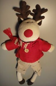 Vintage Plush Toy Moose