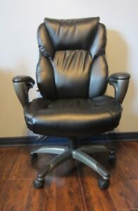 Bonded Leather Serta High Back Managers Office Chair