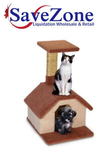 NEW- Fantasy Manufacturing  Puppy And CAT house