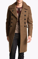 Burberry Military Style Mens Large Trench Coat