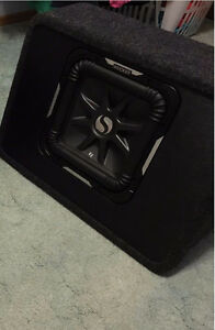 "Mint KICKER 10"" Solo-Baric L7 SubWoofer in Ported truck box $330"
