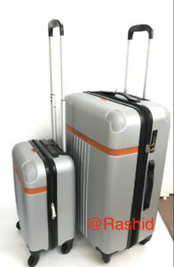 New grey Expandable TSA luggage set suitcases Luggage set de 2 v