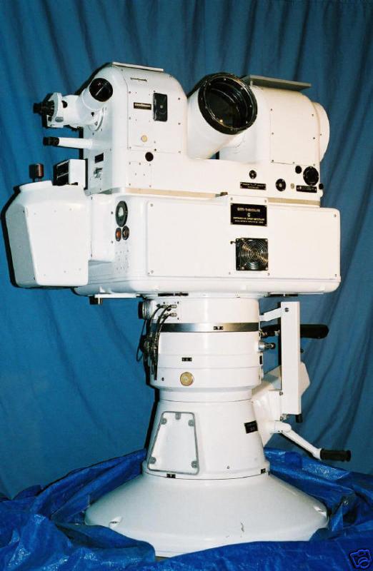 Contraves EOTS Cinetheodolite Telescope Missile Tracker