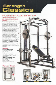Powertec Power Rack System