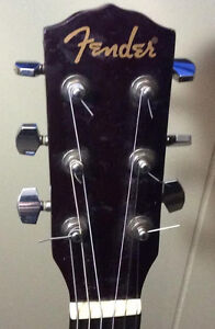Fender Acoustic With Stand!