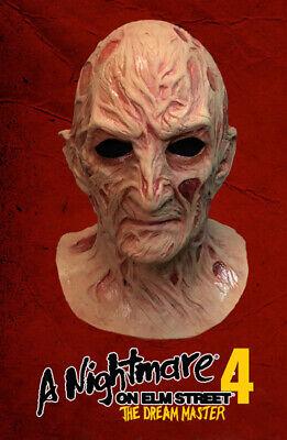 Halloween 4 Replica Mask (Nightmare On Elm Street Part 4 Deluxe Freddy Krueger Mask Prop Replica)
