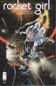 Rocket Girl #4 Collector's Comic in Protective Plastic
