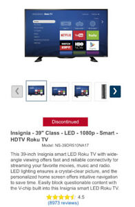 Insignia -Smart HDTV-Roku TV