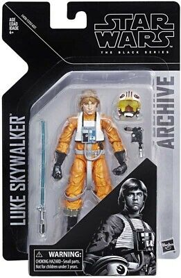 Star Wars The Black Series Archive - Luke Skywalker X-Wing Pilot Action Figure