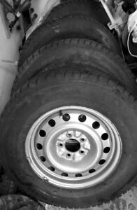 WINTER TIRES+ RIMS FOR SALE