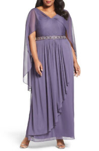 LONG GOWN = ALEX EVENINGS - NEW WITH TAGES