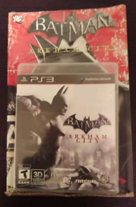 Batman Arkham City PS3 game and comic book *Brand New*