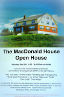 The MacDonald House Open House