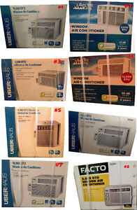 Air Conditioners Brand New in Box several sizes