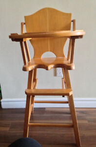 Vintage Wood Highchair