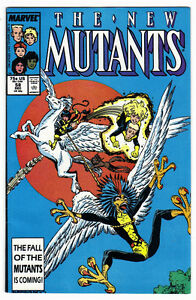The New Mutants #58 Marvel Comics