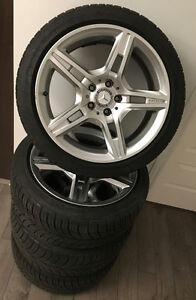 Mags Mercedes AMG (réplique) + Pneus BFGoodrich Comp-2 neufs