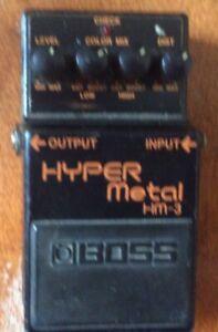 Boss Hyper Metal pedal.