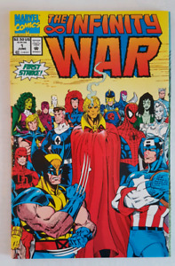 MARVEL Infinity War #1 & 4 of a 6 book series (1992)
