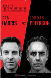 Sam Harris & Jordan Peterson - Great Seat!  Sunday June 24
