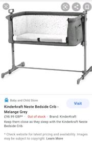 Bedside cot KinderKraft