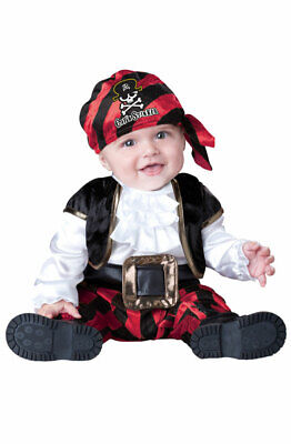 Brand New Pirate Cap'n Stinker Infant/Toddler Halloween Costume - Pirate Infant Costume