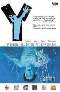 Y:The Last Man-Safeword-Book 4-Excellent condition graphic novel