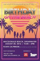 H&R MFRC's Birthday on the Beach!