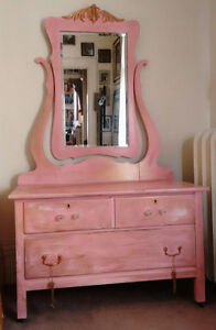 Antique vanity w/ mirror