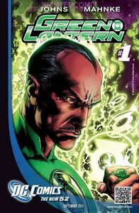 GREEN LANTERN #1 FIRST PRINT DC NEW 52 COMIC BOOK GEOFF JOHNS SINESTRO 2011