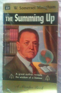 The Summing Up by W,. Somerset Maugham