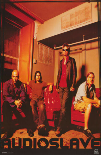 POSTER : MUSIC : AUDIOSLAVE - GROUP POSE    -  FREE SHIPPING !   #6238    LW7 R
