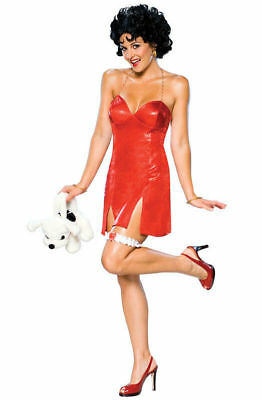 Betty Boop Wigs (Betty Boop Adult Wig and Dress Costume)