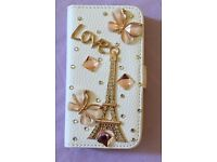 iPhone Leather Wallet Case Flip Cover (new)