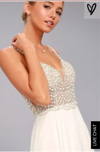 Lulu's white gown - Never worn